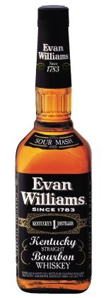 Evan Williams Extra Aged  A Straight Kentucky Bourbon launched in the 1960's by the Heaven Hill Company. A darkly hued sour mash bourbon, aged for 5 to 6 years. Rich flavours with leather, vanilla and toffee.  www.marussiabeverages.co.uk