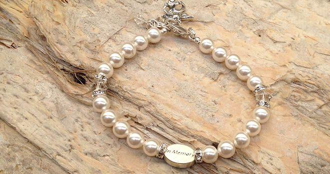 'Unforgotten' Bracelet . Find it at www.giftedmemoriesjewellery.com.au