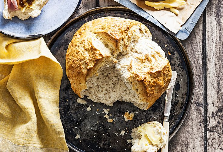 Make a classic Aussie favourite with this damper recipe. Using only 4 ingredients, it's an easy bread recipe that can be enjoyed at any part of the day.