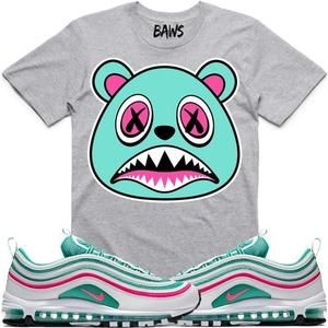 b6542621a0d Baws T-Shirt SOUTH BEACH BAWS Sneaker Tees T-Shirts - Air Max 97 ...