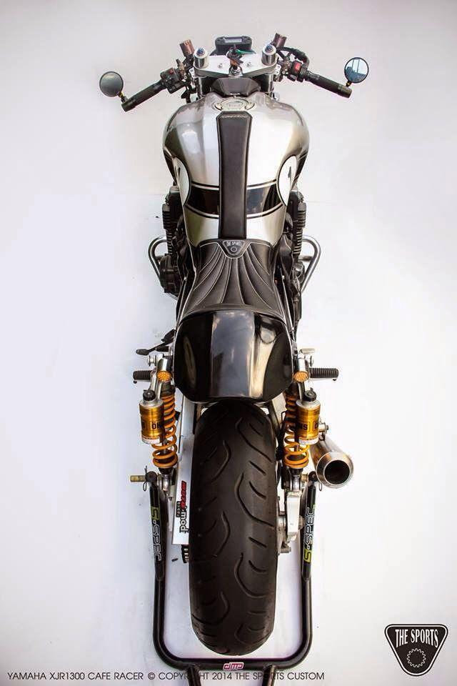 Yamaha XJR1300 CR by The Sports Custom (via RocketGarage)