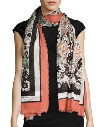 Modal Scarf - The Beast Scarf by VIDA VIDA
