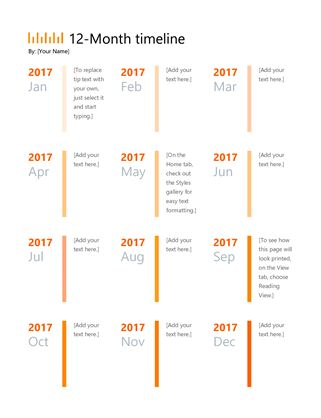 The 25+ best Project timeline template ideas on Pinterest - business timeline template