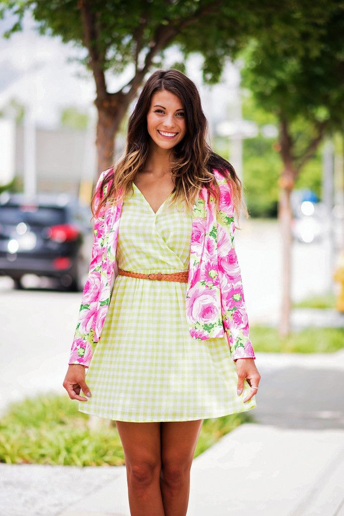 Bright Floral Dreams Blazer, $54.00 #blazer #floral #bright #colorful #work #jacket #shoulderpads #singlethreadbtq #shopstb #boutique