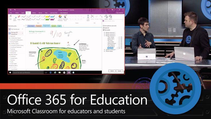 Office 365 Education – Microsoft Classroom and School Data Sync