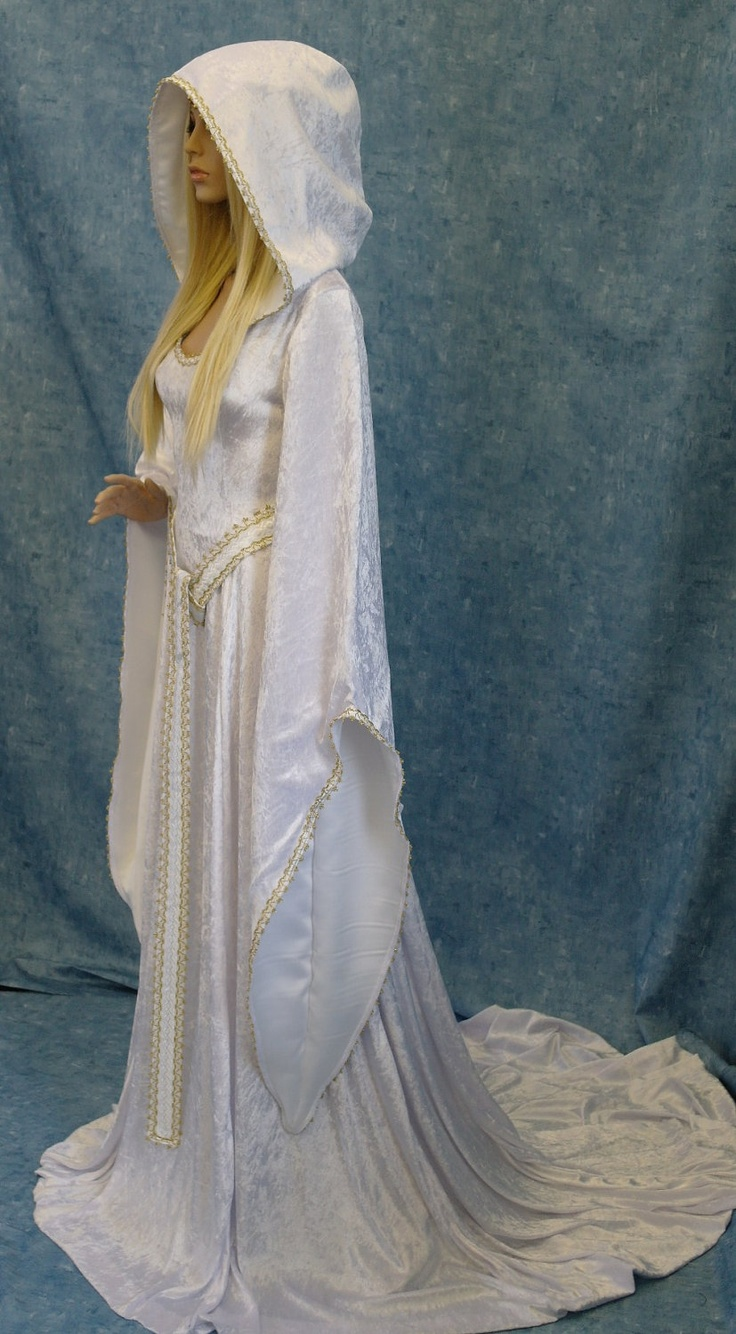 Medieval renaissance elven fairy dress check out http for Elven inspired wedding dresses