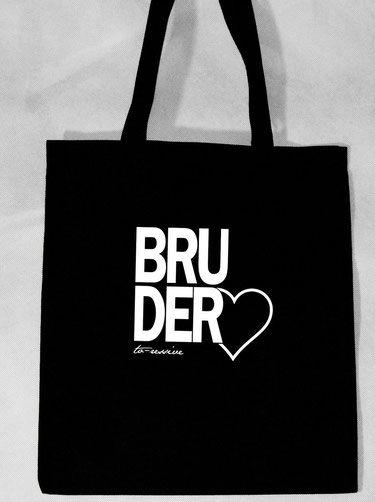 BruderHERZ - Jutebeutel