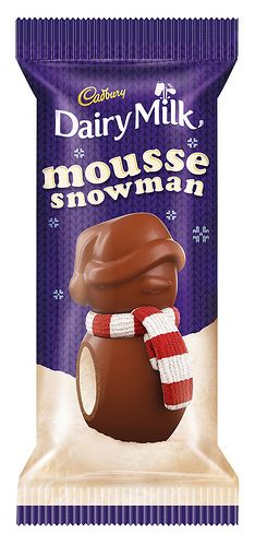 Cadbury Dairy Milk Mousse Snowman,, I Must Find Me One Of These!!