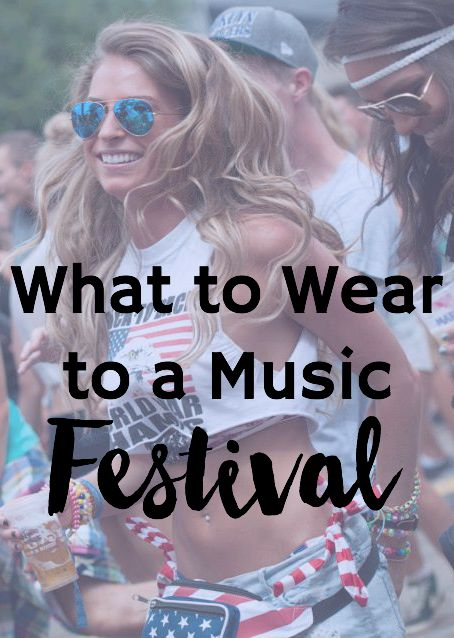 What To Wear To A Music Festival - Helene in Between