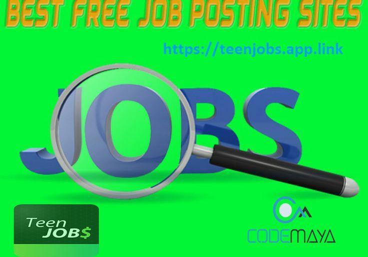 Find teen jobs