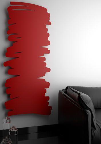 Heißwasser Heizkörper / Elektrisch / Aus Metall / Originelles Design  PARALLAX By Giovanni Tomasini Hotech