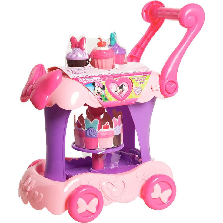 "Minnie Mouse Bow-tique Dessert Cart - Just Play - Toys ""R"" Us (Baylee would Love this!)"