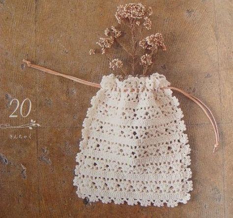 Sachets senteur et leurs grilles gratuites ! - Fleurs et Applications au Crochet