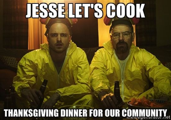 LOL to these hilarious memes in between Thanksgiving courses