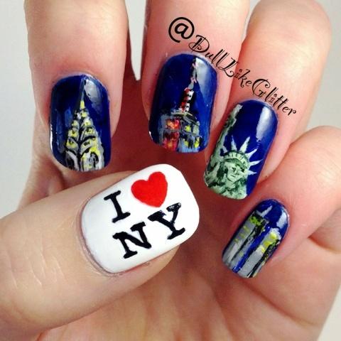 Ny Nail Nails Nailart All About In 2018 Pinterest Art And Designs