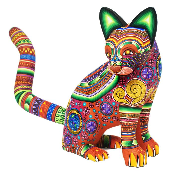 Alebrijes, Oaxacan Animals - MEXICO - Magaly Fuentes Cat