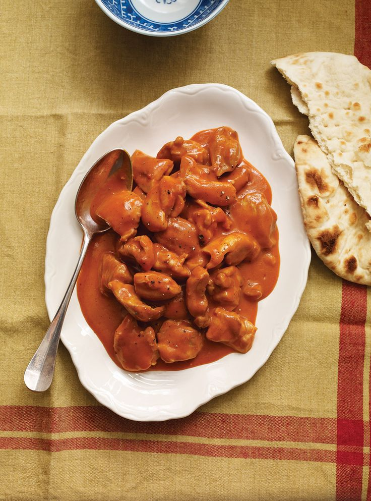Ricardo's recipes : Quick and Easy Butter Chicken