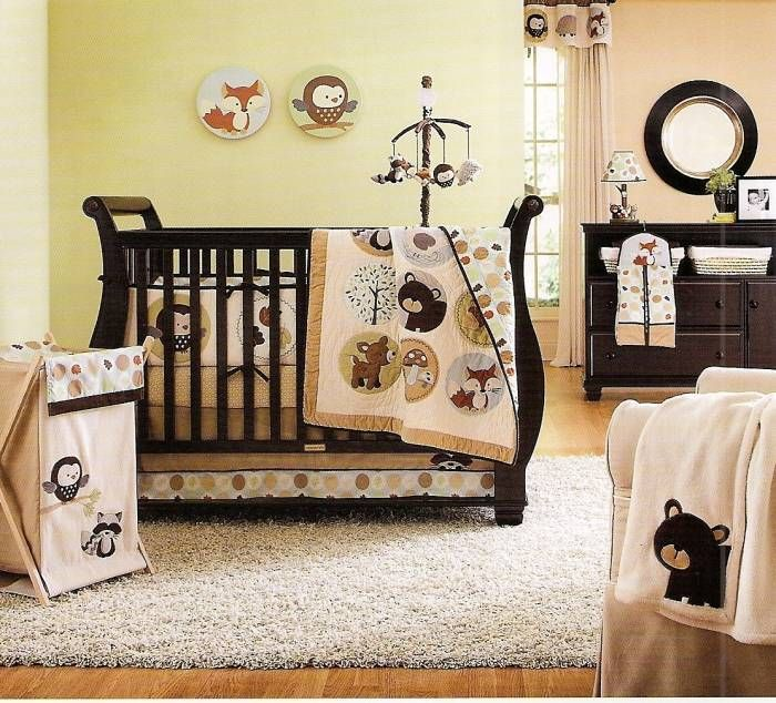 Forest friends Baby Crib Bedding by Carters will bring your little to the lots of woodland friends while hibernating in this charming forest. With beautiful embroideries, sweet characters and a sophisticated color palette, Forest Friends has something for your baby.