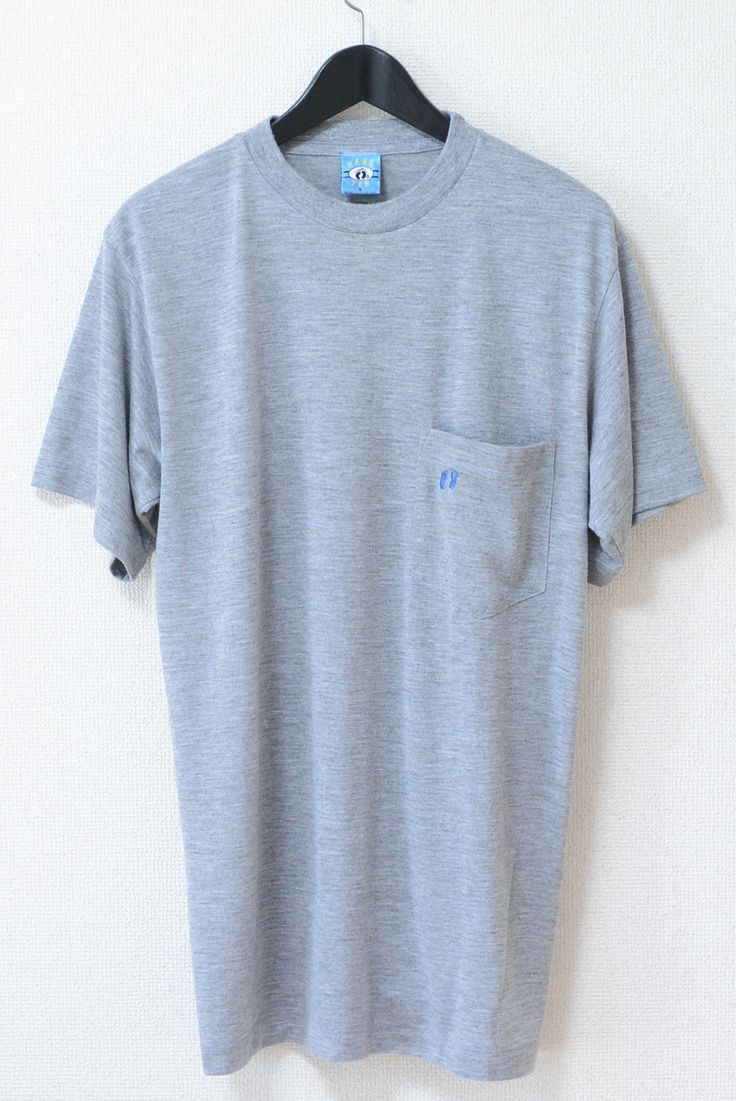 USED&VINTAGE HANG TEN ロゴTシャツ GRAY ¥1,500(TAX IN)