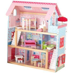 KidKraft doll house, complete with furniture.  Adorable!