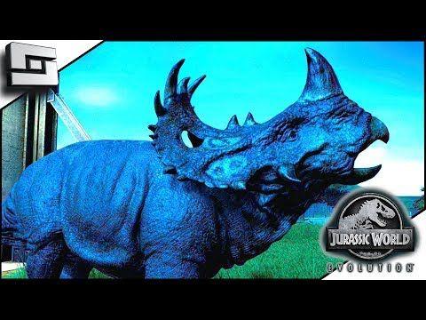 Awesome Jurassic World Evolution Sinoceratops Isla Pena E14 With Images Jurassic World