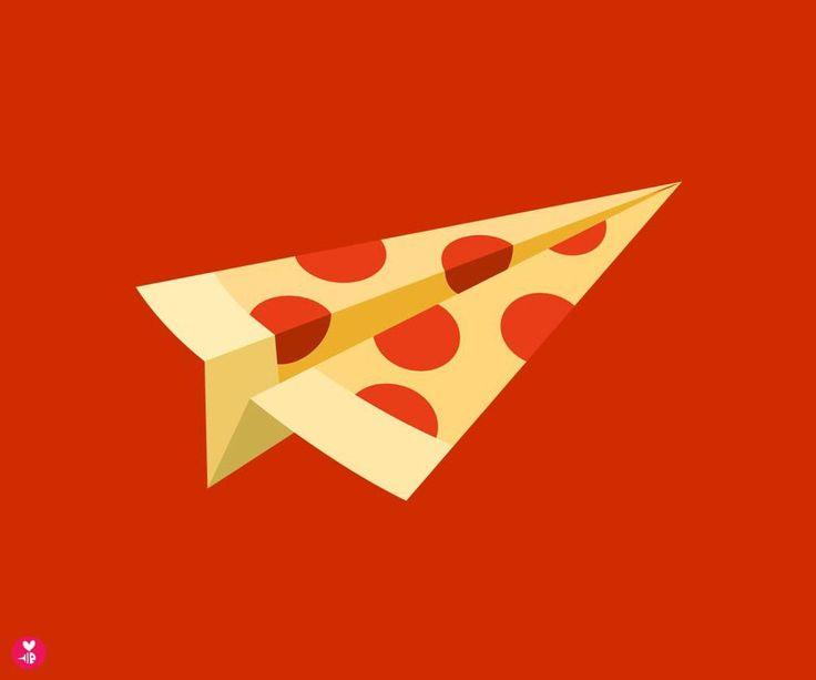 Símbolo da Pizzaria Urbino, Criado por Bee Things