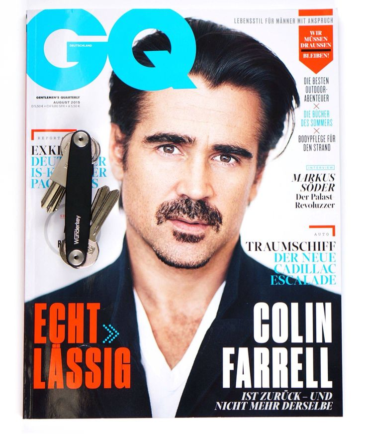 Wunderkey featured in GQ Germany (08/2015). Have a look