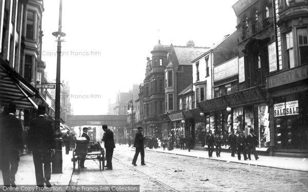 South Shields, King Street c.1898, from Francis Frith