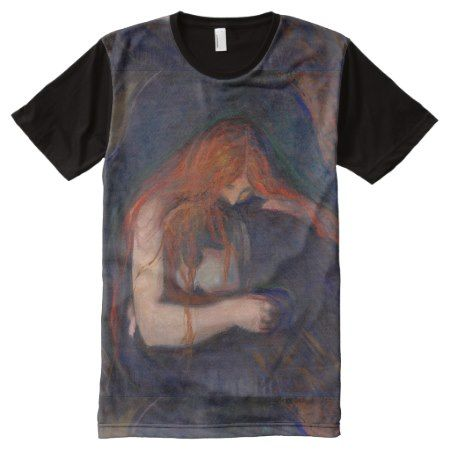 Love and Pain by Edvard Munch All-Over-Print Shirt - tap, personalize, buy right now!