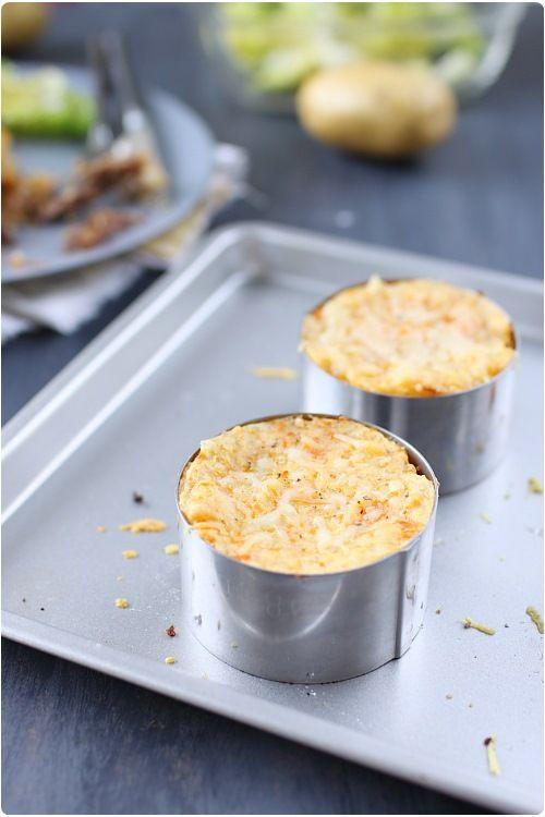 Parmentier pomme de terre / carotte de canard confit | chefNini