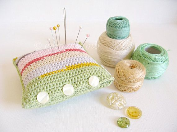 Crocheting In A Sentence : ... SALE Florrie pastel striped crochet by emmalamb on Etsy, ?23.00