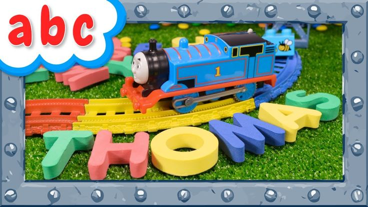 Funny ABC Challenge with Thomas and Friends - Learning video for Prescho...