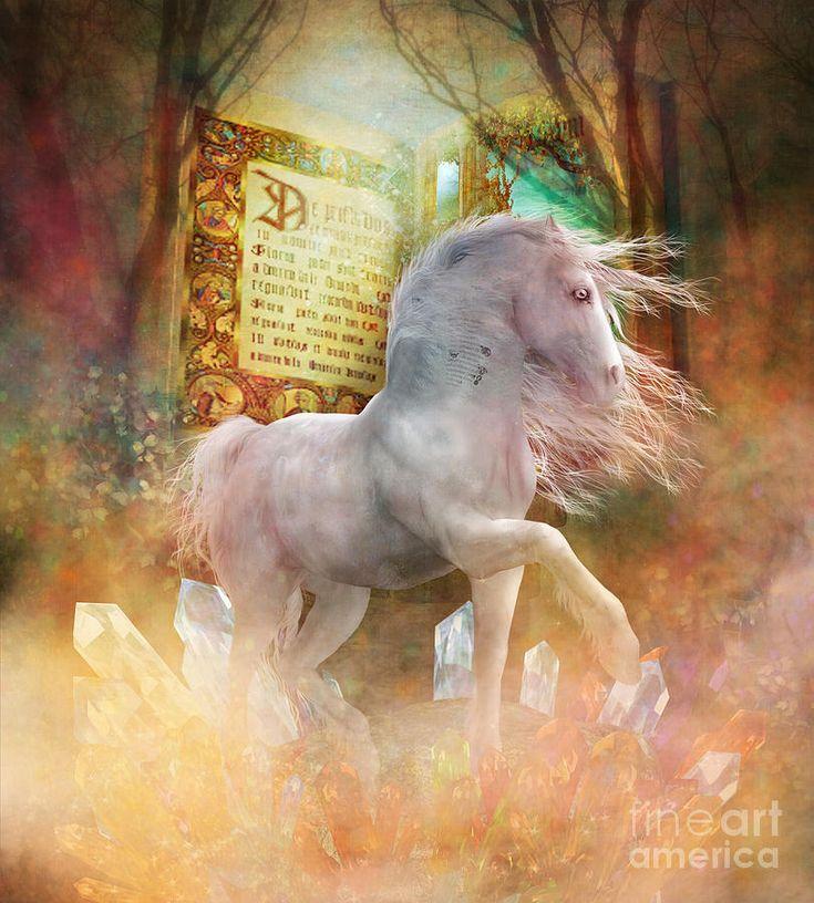 Unicorn Ψηφιακή Τέχνη - Μια φορά κι έναν καιρό από Shanina Conway