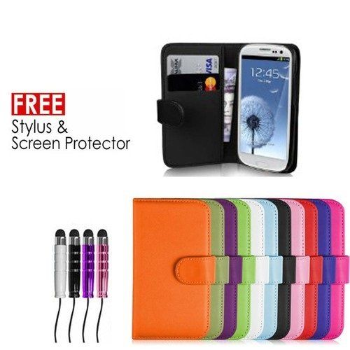Sell-Ideas® Samsung Galaxy S4 SIV, S3 SIII , S4 mini, S3 mini and Galaxy Note 3 III Wallet Case Cover Pouch With Free Screen Protector and Mini Stylus (Samsung Galaxy S3, Purple Standard Case) sell-ideas http://www.amazon.co.uk/dp/B00IYKINFW/ref=cm_sw_r_pi_dp_cQgJub137GDXQ