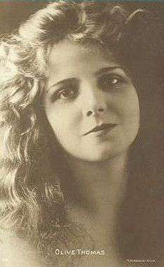 Silence is Platinum: Silent screen star Olive Thomas