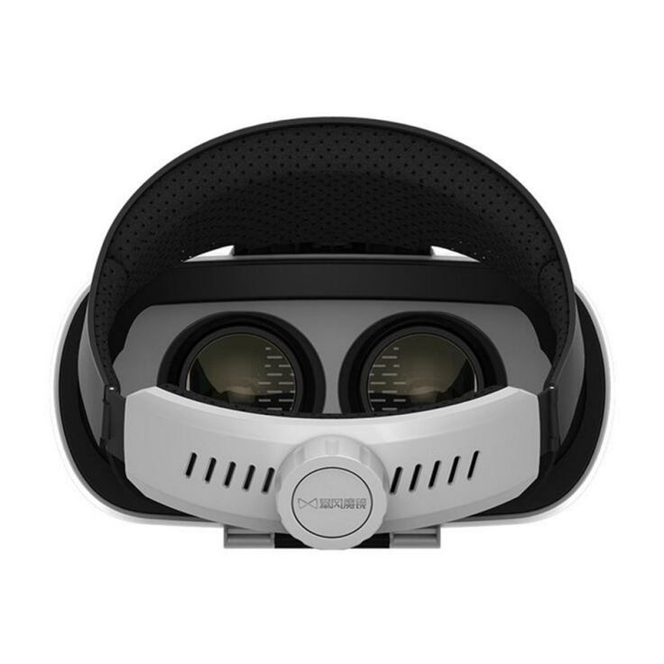 Baofeng Mojing IV Virtual Reality Headset 3D Glasses with Remote Controller for iOS iPhone White & Black