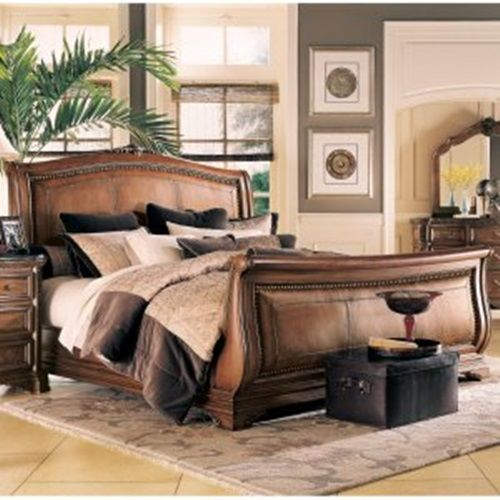 Asian Teak. A simply luxurious Indonesian Teak Sleigh Bed, Chests and Dresser for the perfect Bedroom. | rickysturn/home-styling