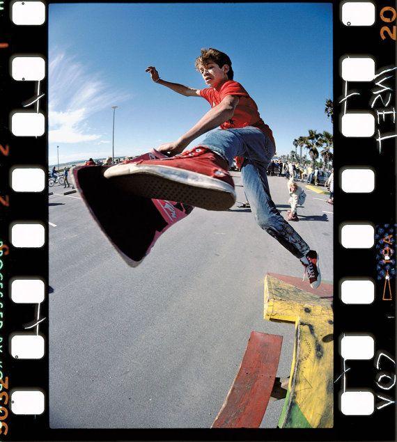 80s Skate Photo - Mark Gonzalez (aka the Gonz) - J Grant Brittain Skateboarding Photo via https://www.etsy.com/nl/listing/176338100/80s-skate-photo-mark-gonzales-eighties?ref=shop_home_active_1