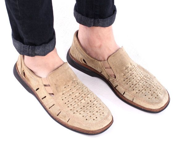 Hey, I found this really awesome Etsy listing at https://www.etsy.com/listing/503258846/suede-loafers-for-men-80s-grandpa-shoes