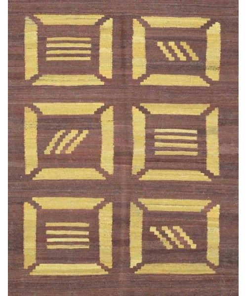 "Afghani Kilim Rug CC2183-Design# 1351, Size- 4'-0"" X 5'-2""  #livingroom #diy #handmade #best #cleaning #modern #design #runner #print #carpet #rugs #flooring #office #home #decoration #bedroom"