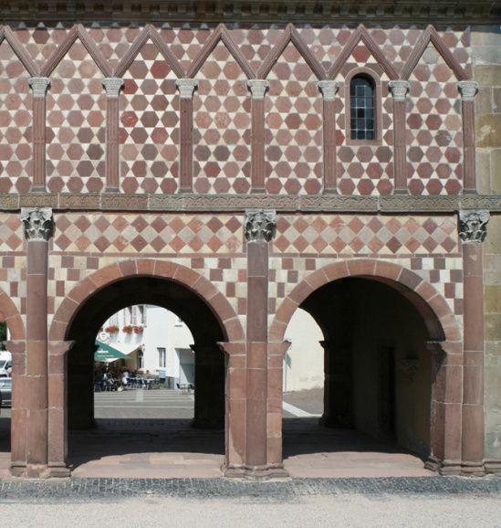 Torhalle, Abadía imperial de Lorsch, Lorsch (Hesse) Foto por Jong-soung Kimm
