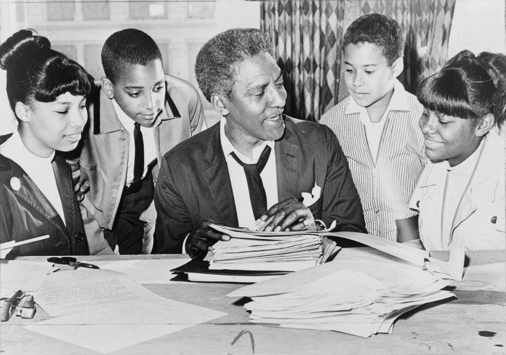 """As an assistant to civil rights leader Bayard Rustin, Kahn helped to organize the 1963 March on Washington, during which MartinLuther King delivered his """"I Have a Dream"""" speech. Description from revolvy.com. I searched for this on bing.com/images"""