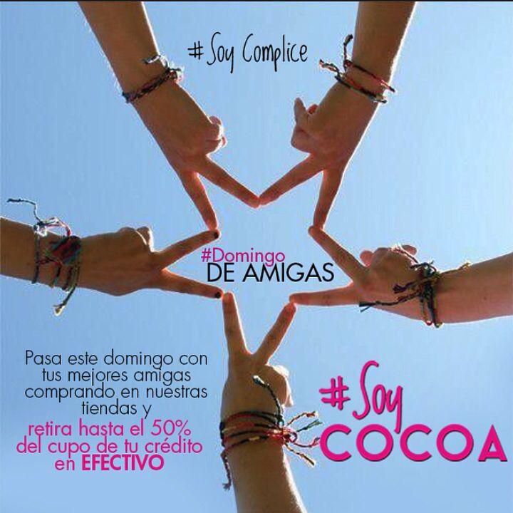 Tarde de amigas al mejor estilo #CocoaJeans #SoyComplice #SoyCocoa