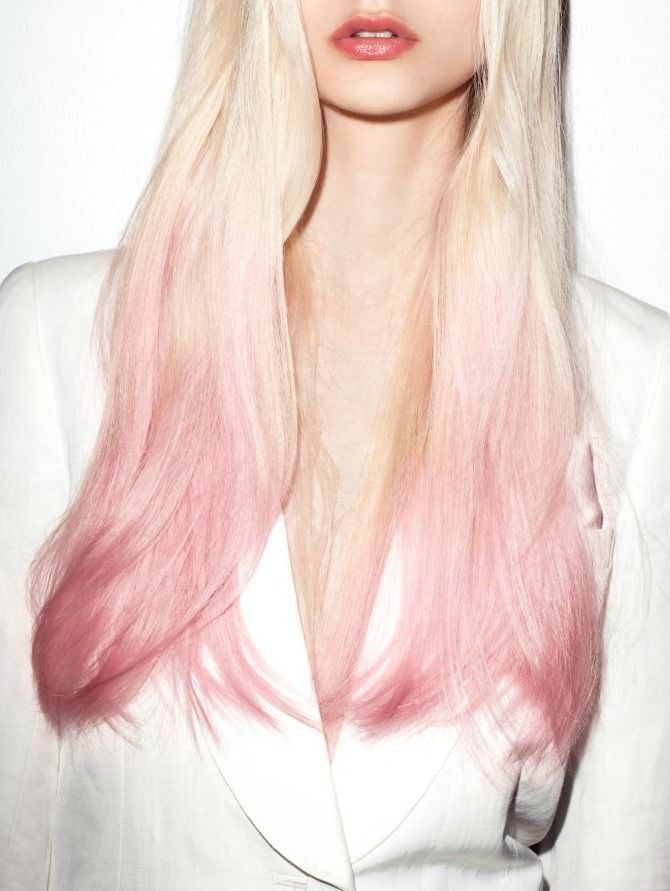 Best 25+ Light pink hair ideas on Pinterest | Pastel pink ... Light To Dark Dip Dye