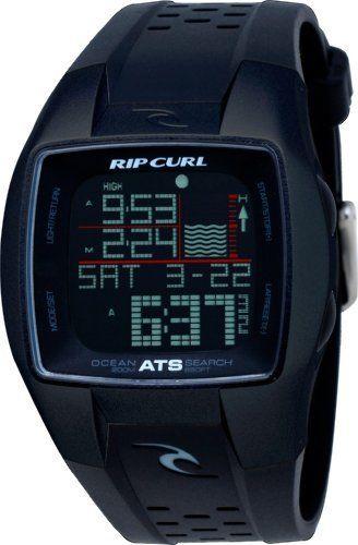 Rip Curl Men's A1015-MID Trestles Oceansearch Midnight Black Tide Watch Rip Curl. $109.00