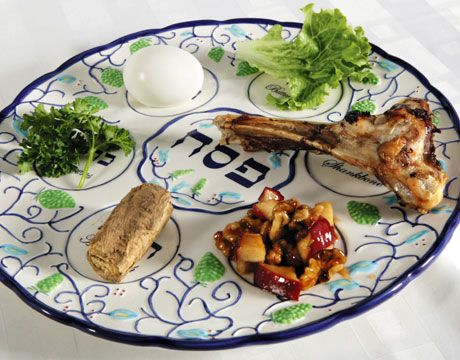 The Sedar Plate and it's meaning. http://www.chabad.org/holidays/passover/pesach_cdo/aid/270478/jewish/The-Seder-Plate.htm
