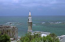 Mezquita en la costa