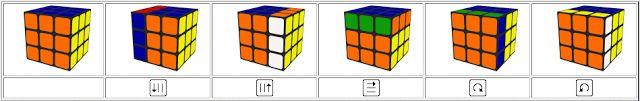 Solución Rubik: Solución Visual 3x3x3 Rubik