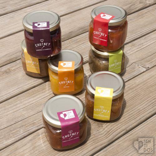 CHUTNEYS - Sentidos #portuguesebrand #packaging #chutney #sentidos