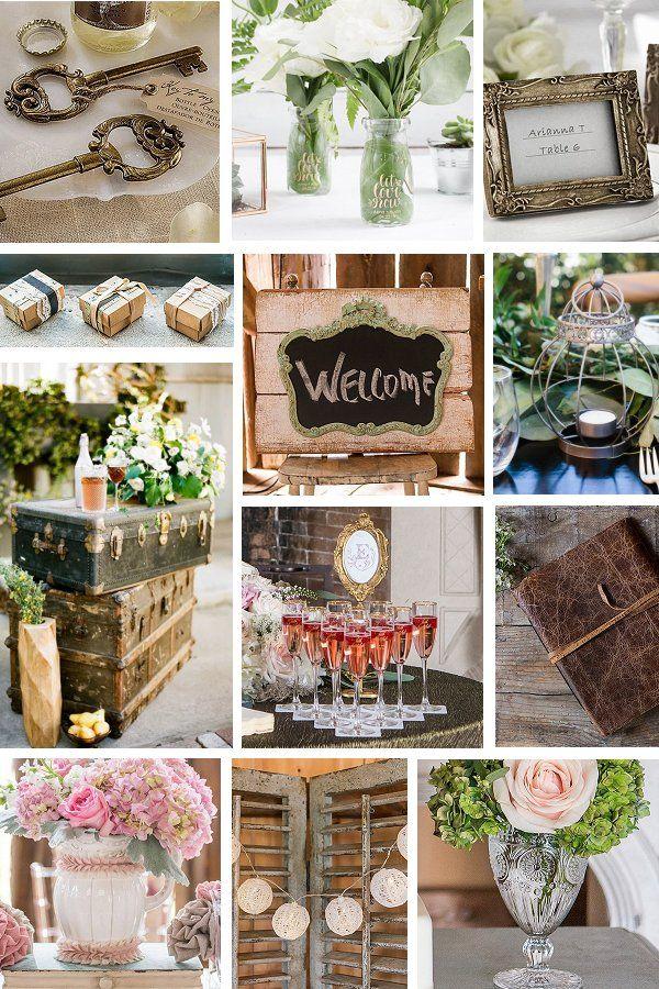 Vintage Wedding Theme Elegant Wedding Ideas Vintage Wedding Theme Vintage Shabby Chic Wedding Rustic Wedding Decor